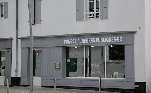 Pompes Funèbres Publiques Ré accueil principal